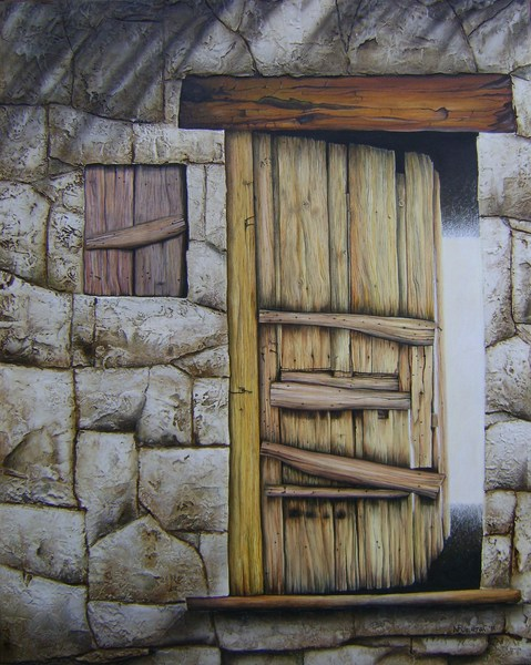 Para mirar pinturas puertas nancy centro cultural for Pintura para puertas