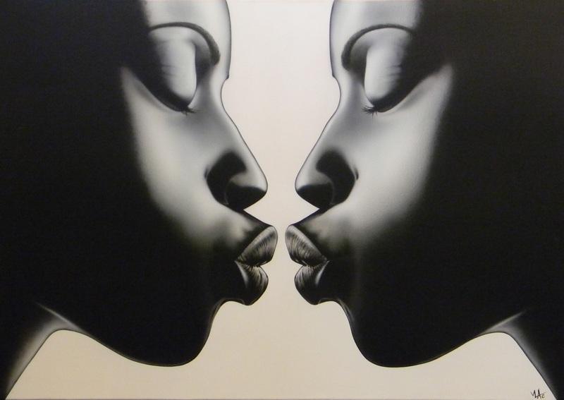 ===Un beso, un cuadro=== Img-4890